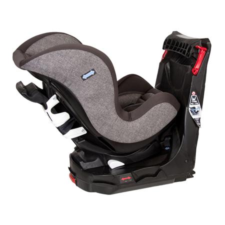 Quax® Seggiolino Easy Rider 360° Isofix  0+/1 (0-18 kg) Light Grey