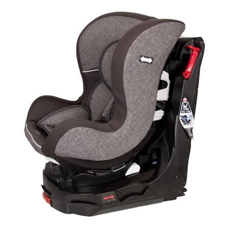 Immagine di Quax® Seggiolino Easy Rider 360° Isofix  0+/1 (0-18 kg) Light Grey