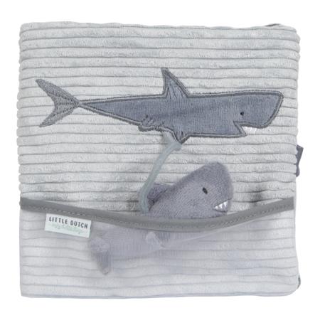 Immagine di Little Dutch® Libretto  sensoriale balena Ocean Blue