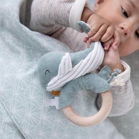Immagine di Little Dutch® Sonaglio Balena Ocean Blue