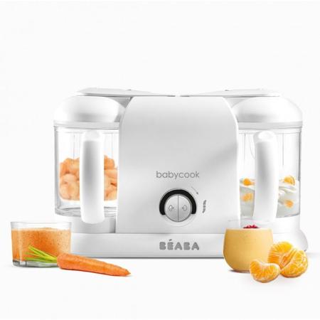 Beaba® Babycook Robot da cucina Plus White/Silver