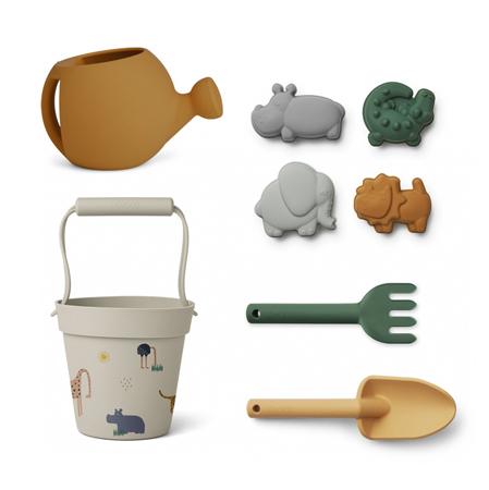 Immagine di Liewood® Set per giocare sulla spiaggia o nella sabbia Florence Safari Sandy Multi Mix