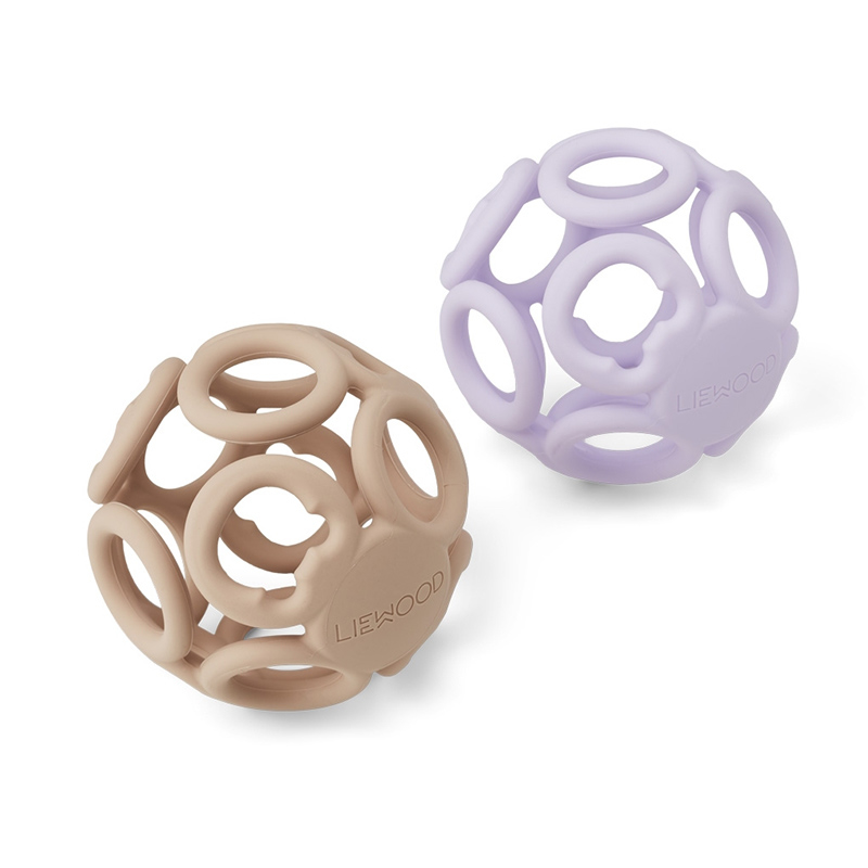 Immagine di Liewood® Set 2 palline Jasmin Sandy Light Lavender Rose Mix