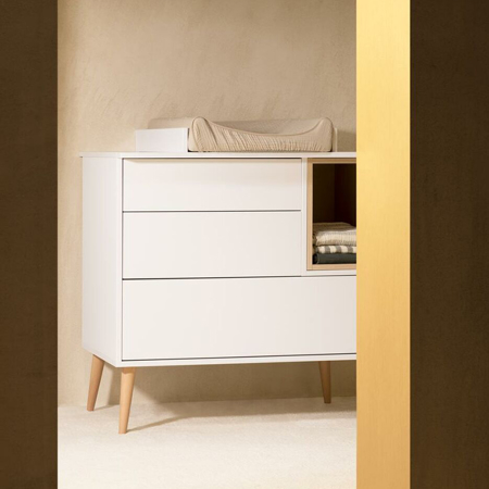 Immagine di Quax® Cassettiera moderna Cocoon Ice White