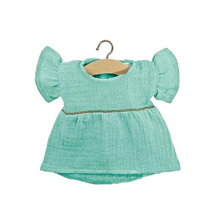 Minikane® Vestito per le bambole Daisy Green Water Gold 34cm