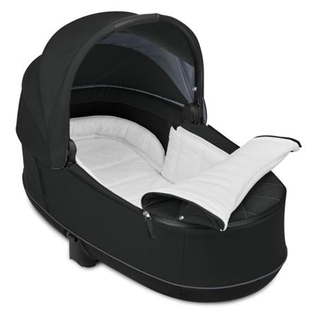 Immagine di Cybex® Passeggino con navicella 2in1 Priam Chrome Black (0-22 kg)