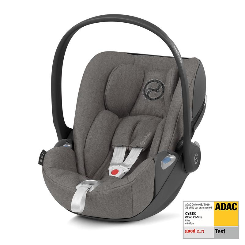 Immagine di Cybex® Seggiolino per bambini Cloud Z PLUS i-Size 0+ (0-13 kg) Soho Grey
