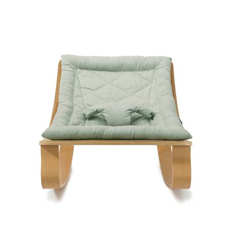 Immagine di Charlie Crane® Sdraietta e sedia a dondolo LEVO Beech Aruba Blue