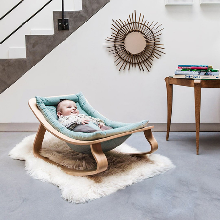 Immagine di Charlie Crane® Sdraietta e sedia a dondolo LEVO Beech Jaguar