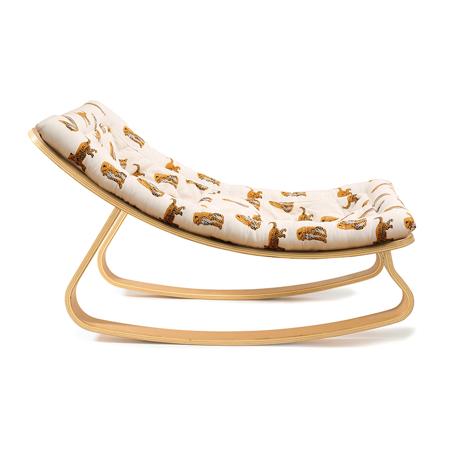 Charlie Crane® Sdraietta e sedia a dondolo LEVO Beech Jaguar