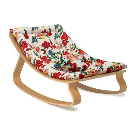Immagine di Charlie Crane® Sdraietta e sedia a dondolo LEVO Beech Hibiscus