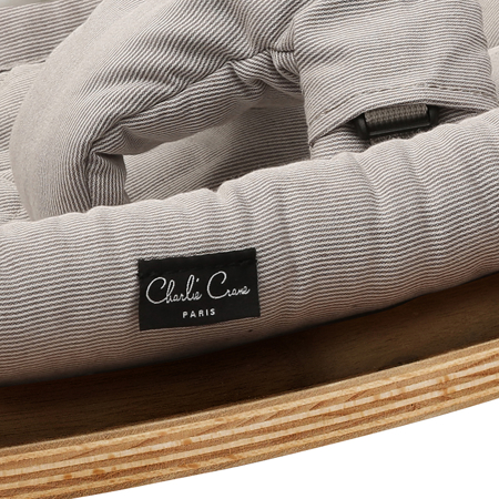 Immagine di Charlie Crane® Sdraietta e sedia a dondolo LEVO Walnut Sweet Grey