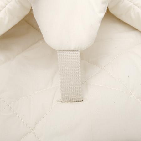 Immagine di Charlie Crane® Sdraietta e sedia a dondolo LEVO Walnut Organic White
