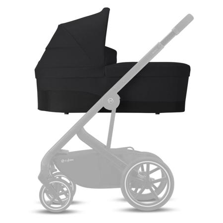 Cybex® Navicella per il passeggino Balios Cot S Lavastone Black (0-22 kg)