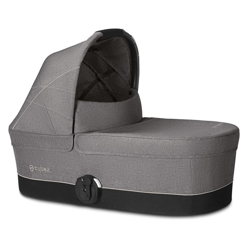 Immagine di Cybex® Navicella per il passeggino Balios Cot S Manhattan Grey/Mid Grey (0-22 kg)