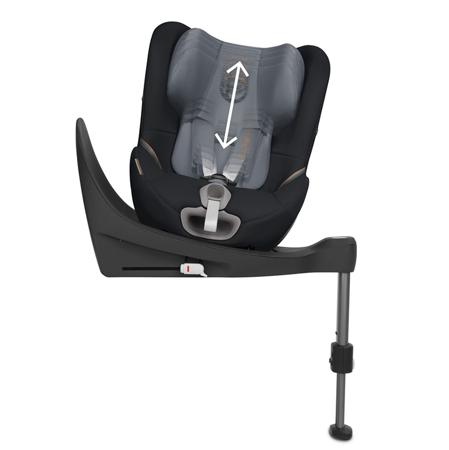 Immagine di Cybex® Seggiolino per bambini Sirona S i-Size 0+/1 (0-18 kg) Granit Black