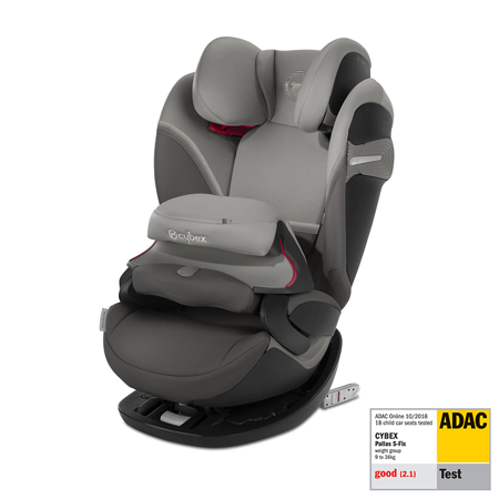 Immagine di Cybex® Seggiolino per bambini Pallas S-Fix 1/2/3 (9-36 kg) Soho Grey