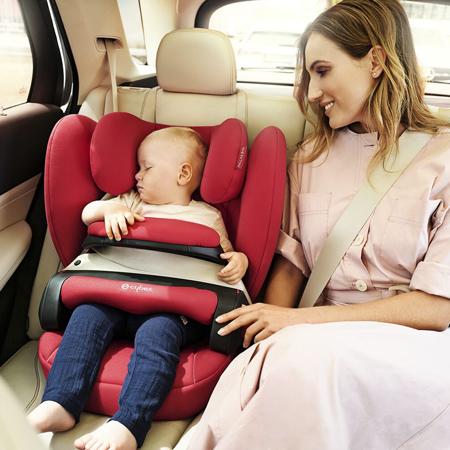 Immagine di Cybex® Seggiolino per bambini Pallas B-Fix 1/2/3 (9-36 kg) Steel Grey