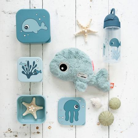 Immagine di Done by Deer® Borraccia con cannuccia Sea Friends Blue