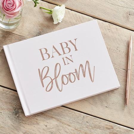Immagine di Ginger Ray® Il libro dei ricordi per gli ospiti Baby in Bloom