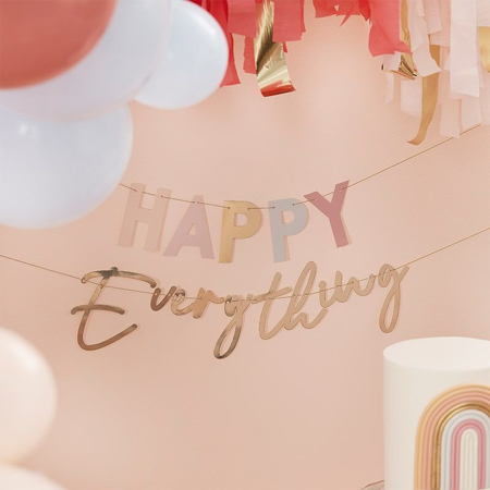 Immagine di Ginger Ray® Iscrizione appesa Happy Everything