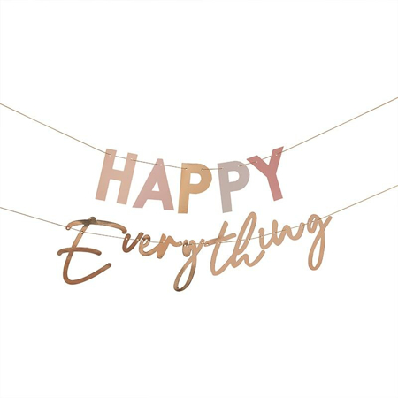 Ginger Ray® Iscrizione appesa Happy Everything