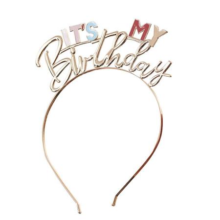 Ginger Ray® Fascia per capelli It's My Birthday