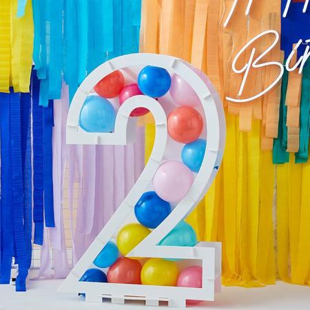 Immagine di Ginger Ray® Supporto per palloncini Mix It Up Numero 2