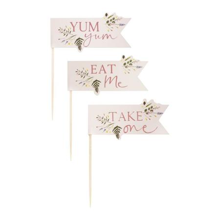 Ginger Ray® Decorazioni per dolci Floral 12 pezzi