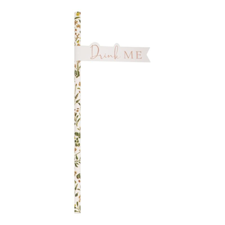 Ginger Ray® Cannucce di carta Lets Partea 20 pezzi