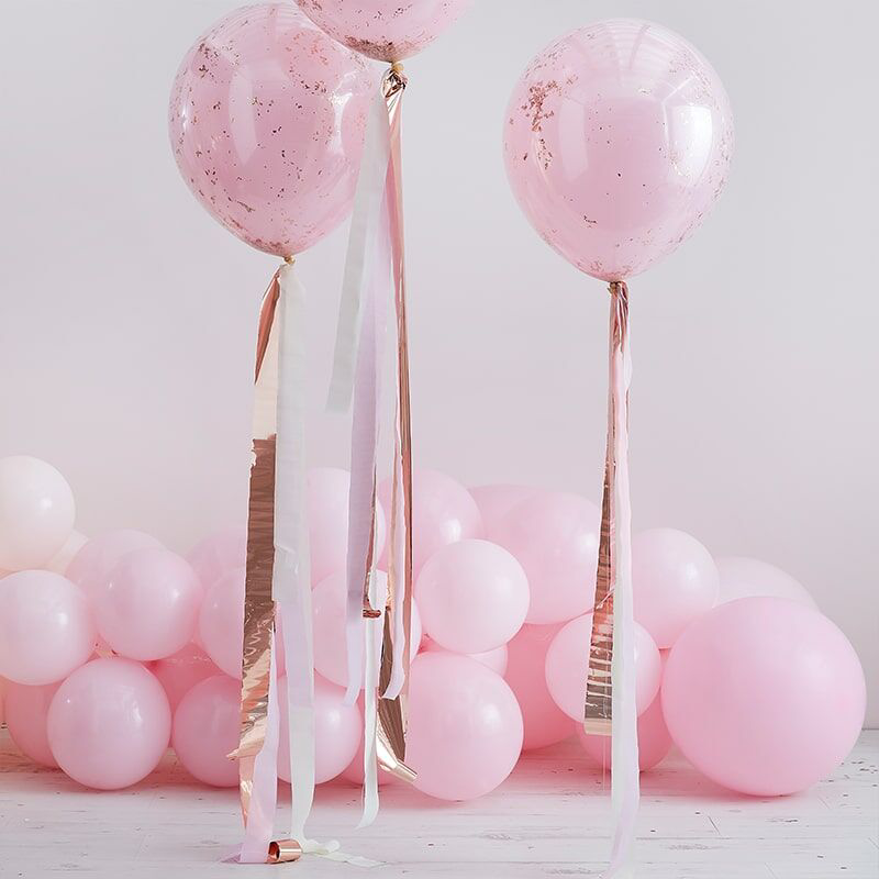 Immagine di Ginger Ray® Resice za balone  Mix It Up Rose Gold and Pink