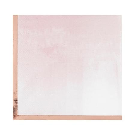 Ginger Ray® Tovaglioli di carta Mix It Up  Glaye Rose Gold 16 pezzi