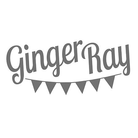 Immagine di Ginger Ray® Piatti di carta Mix It Up Flecked Rainbow 8 pz.