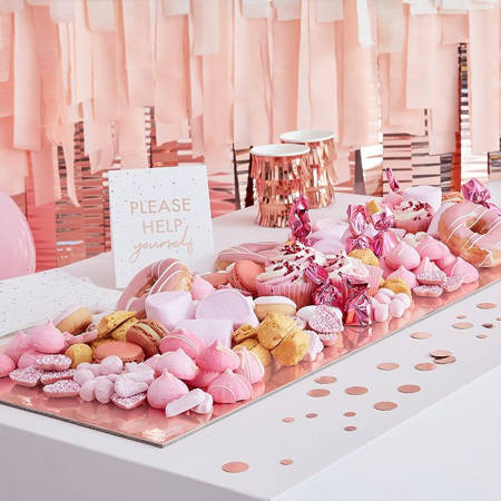 Immagine di Ginger Ray® Vassoio Mix It Up Rose Gold