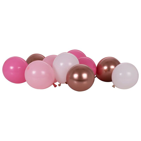 Ginger Ray® Palloncini Mix It Up Blush Rose Gold