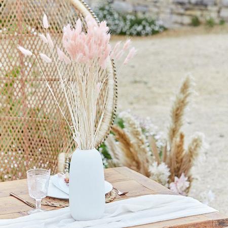 Immagine di Ginger Ray® Decorazione per tavola Bunny Tails Soft Pink