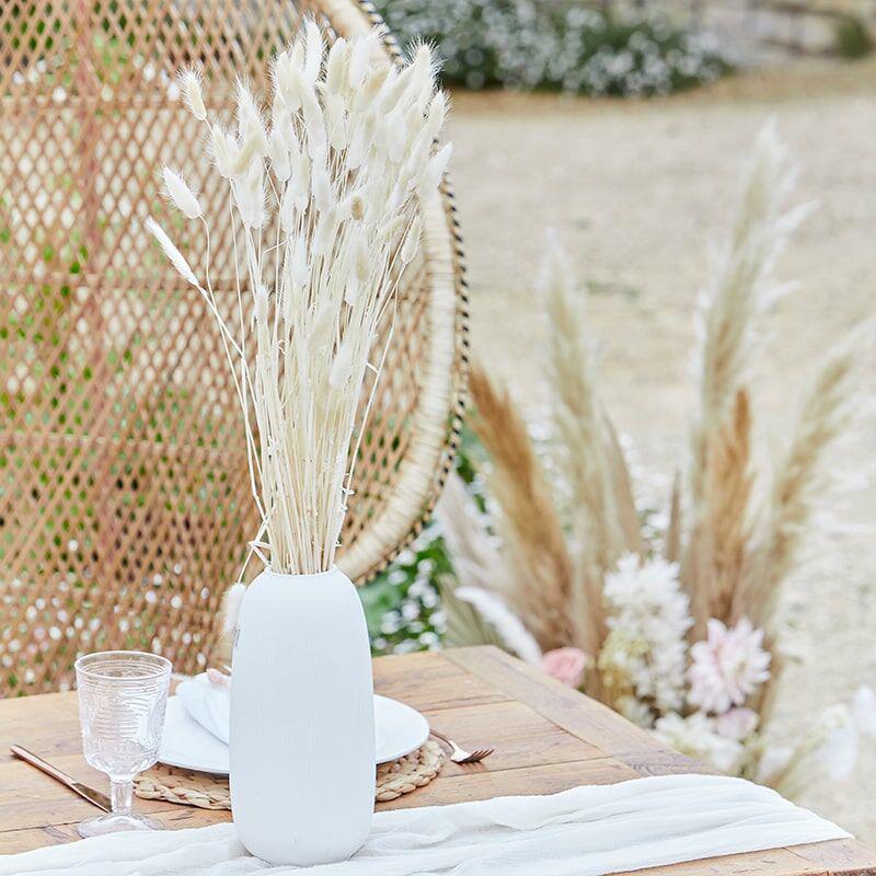 Immagine di Ginger Ray® Decorazione per tavola Bunny Tails White