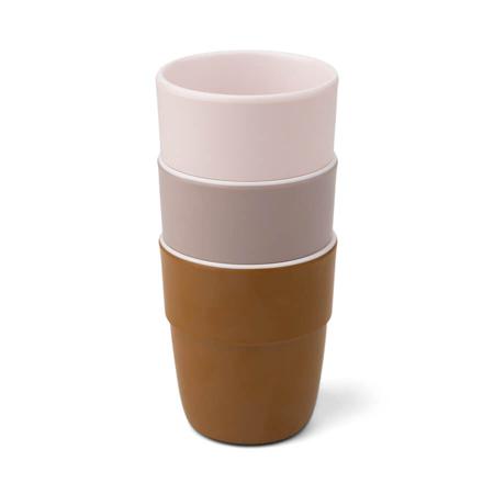 Immagine di Done by Deer® Set di 3 bicchieri Yummy Mini Powder