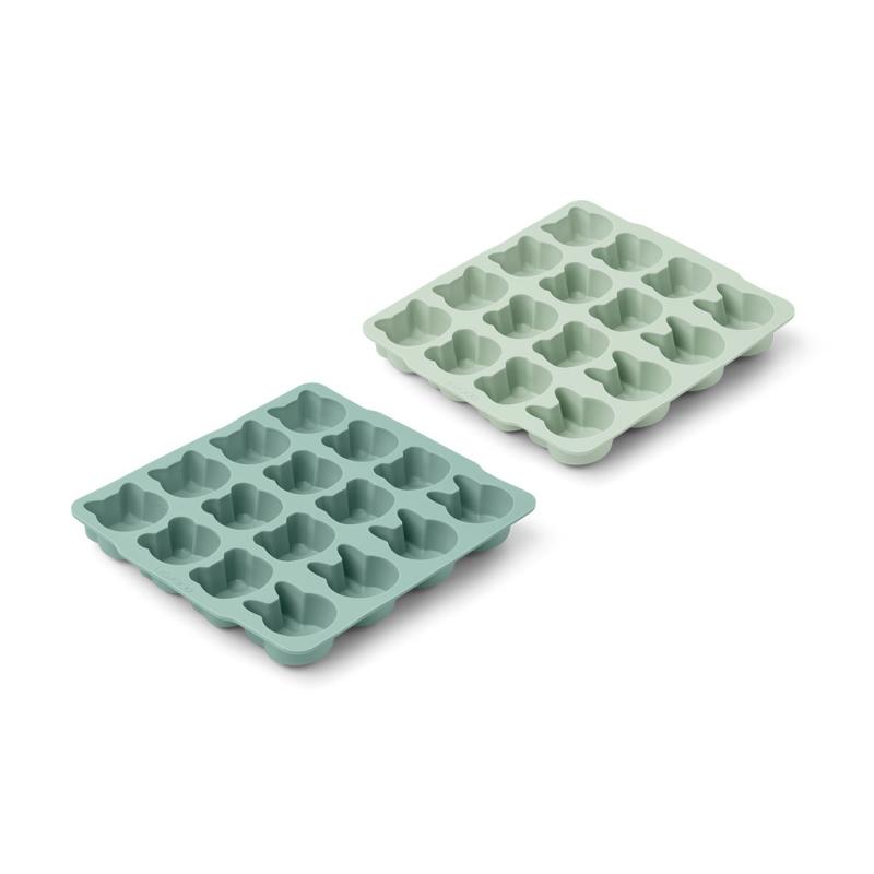 Immagine di Liewood® Modelli per il ghiaccio in silicone Sonny Mint mix 2 pezzi