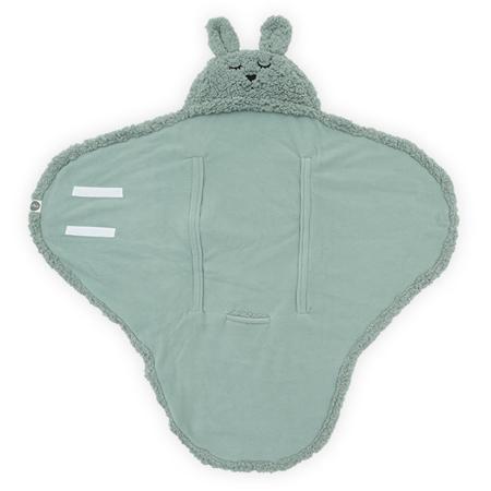 Jollein® Copertina per neonati Bunny Ash Green 105x100
