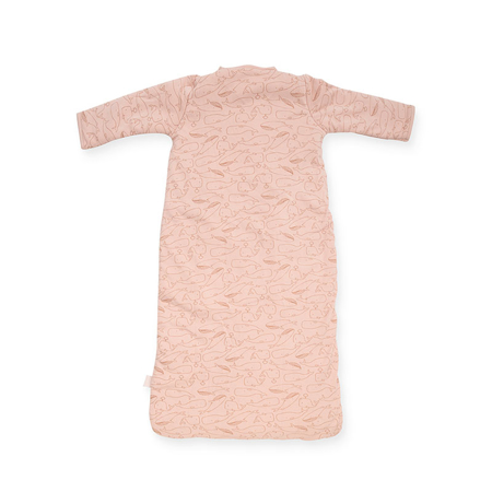 Immagine di Jollein® Sacco nanna per neonati per tutte le stagioni 110cm Whales Pale Pink