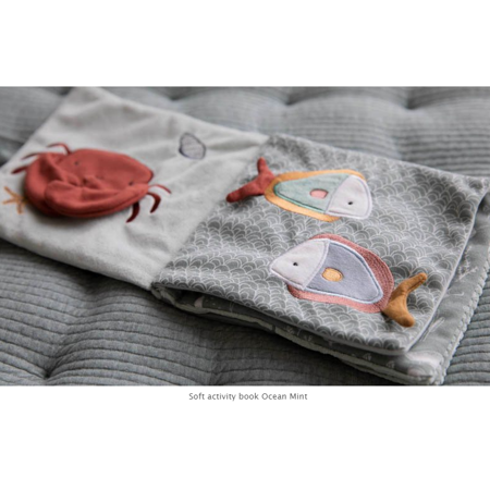 Immagine di Little Dutch® Libretto  sensoriale balena Ocean Mint