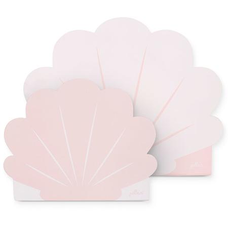 Jollein® Set di due valigie Shell Pale Pink