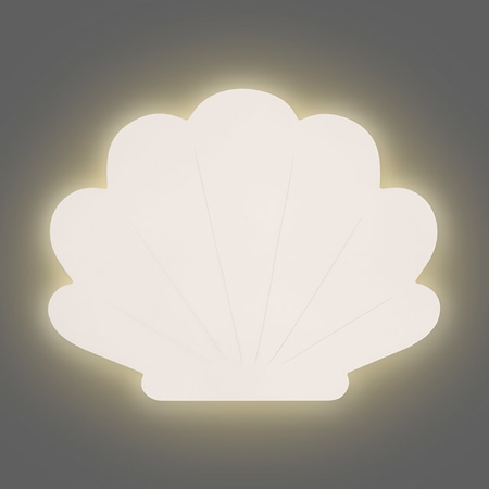 Immagine di Jollein® Lampada conchiglia Nougat