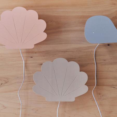 Immagine di Jollein® Lampada Conchiglia Pale Pink
