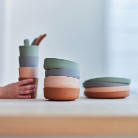 Immagine di Jollein® Set pappa in silicone Caramel