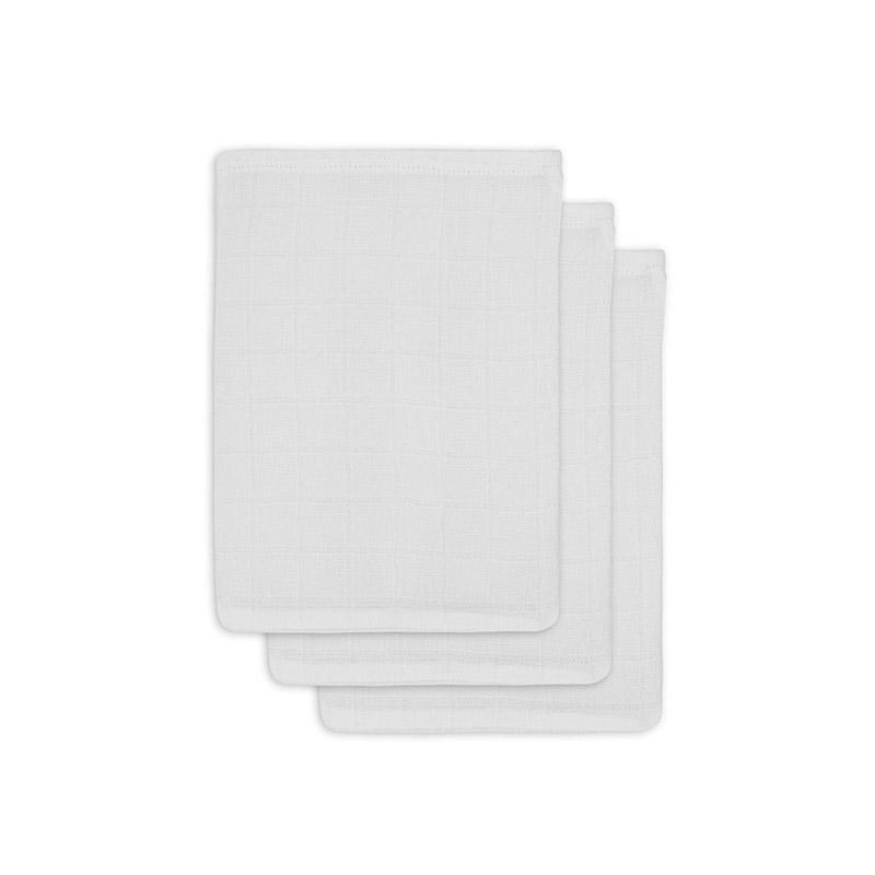 Immagine di Jollein® Set di 3 mussole per il bagnetto White 20x15