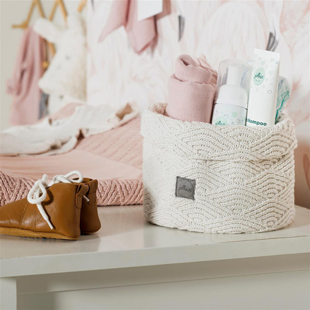 Immagine di Jollein® Contenitore Bliss Knit Nougat
