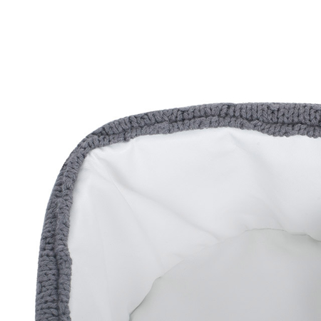 Jollein® Contenitore Bliss Knit Storm Grey