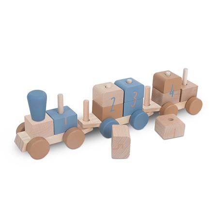 Jollein® Treno in legno Blue
